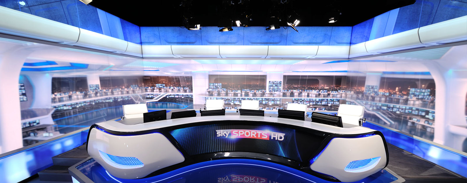 Digital Backdrop for Sky Sports