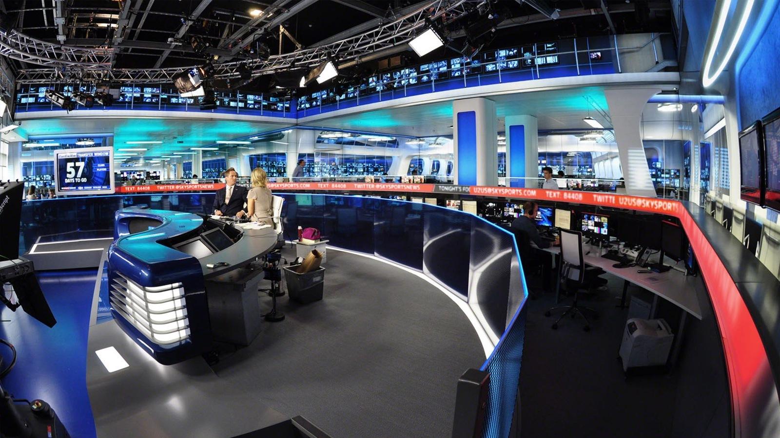 Sky Sports News Lightwell Visualisation Ltd
